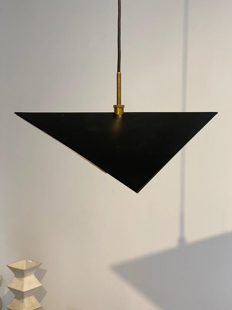 Svend Aage Holm Sorensen Light Pendant, 1960s In Excellent Condition In New York, NY