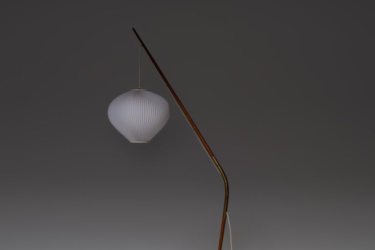 Svend Aage Holm Sorensen Floor Lamp In Good Condition For Sale In Rotterdam, NL