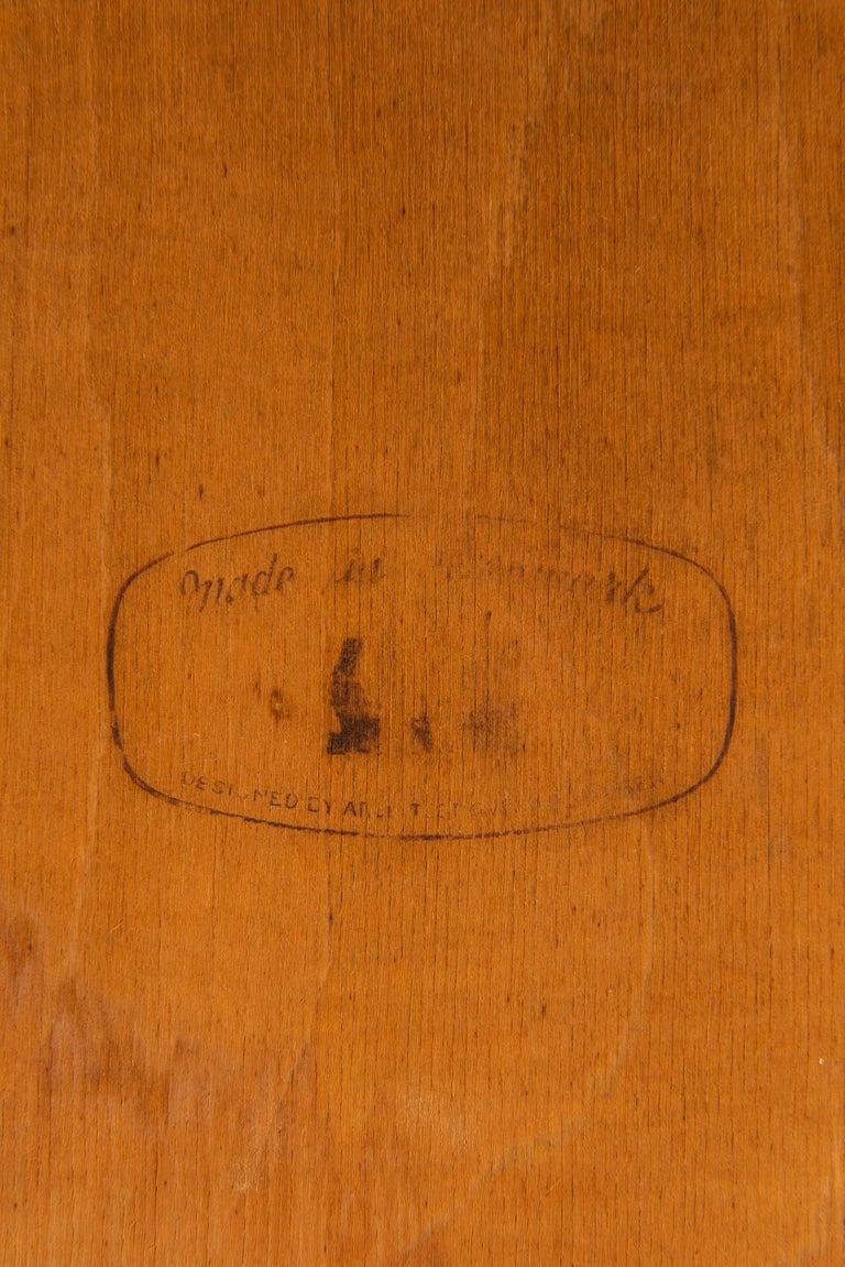 Svend Aage Madsen Desk Produced by K. Knudsen & Søn in Denmark For Sale 3