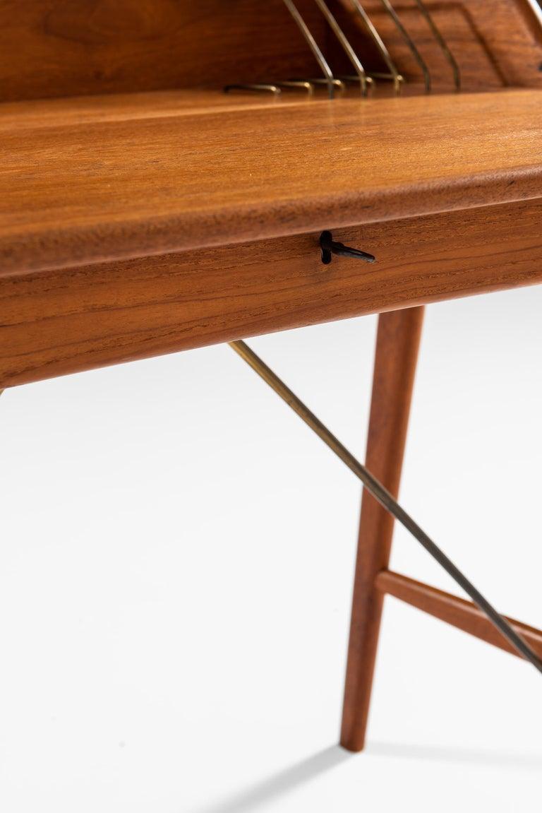Svend Aage Madsen Desk Produced by K. Knudsen & Søn in Denmark For Sale 4