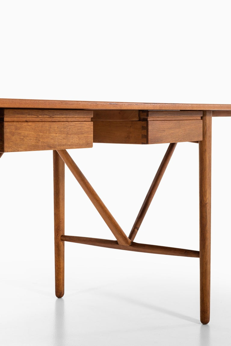 Svend Aage Madsen Desk Produced by K. Knudsen & Søn in Denmark For Sale 6