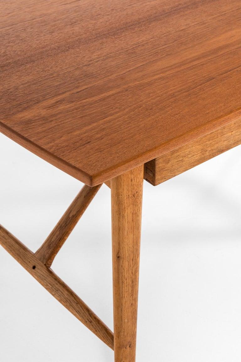 Svend Aage Madsen Desk Produced by K. Knudsen & Søn in Denmark For Sale 8