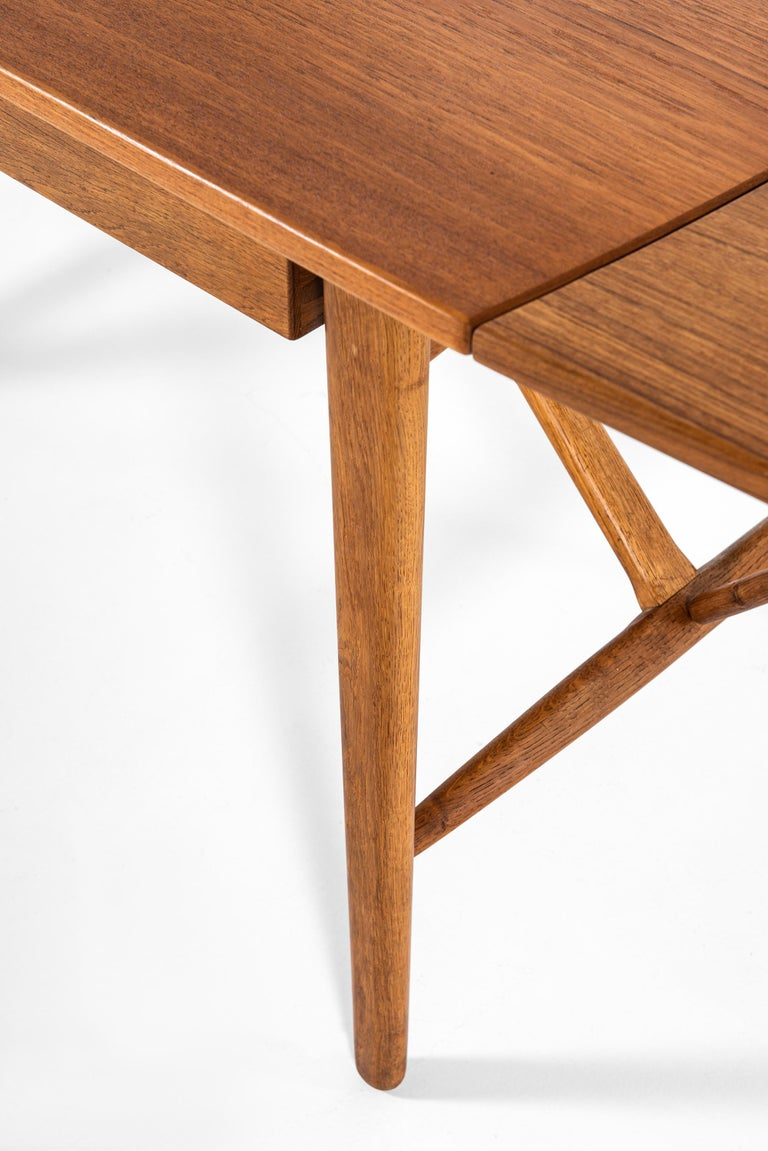 Svend Aage Madsen Desk Produced by K. Knudsen & Søn in Denmark For Sale 9