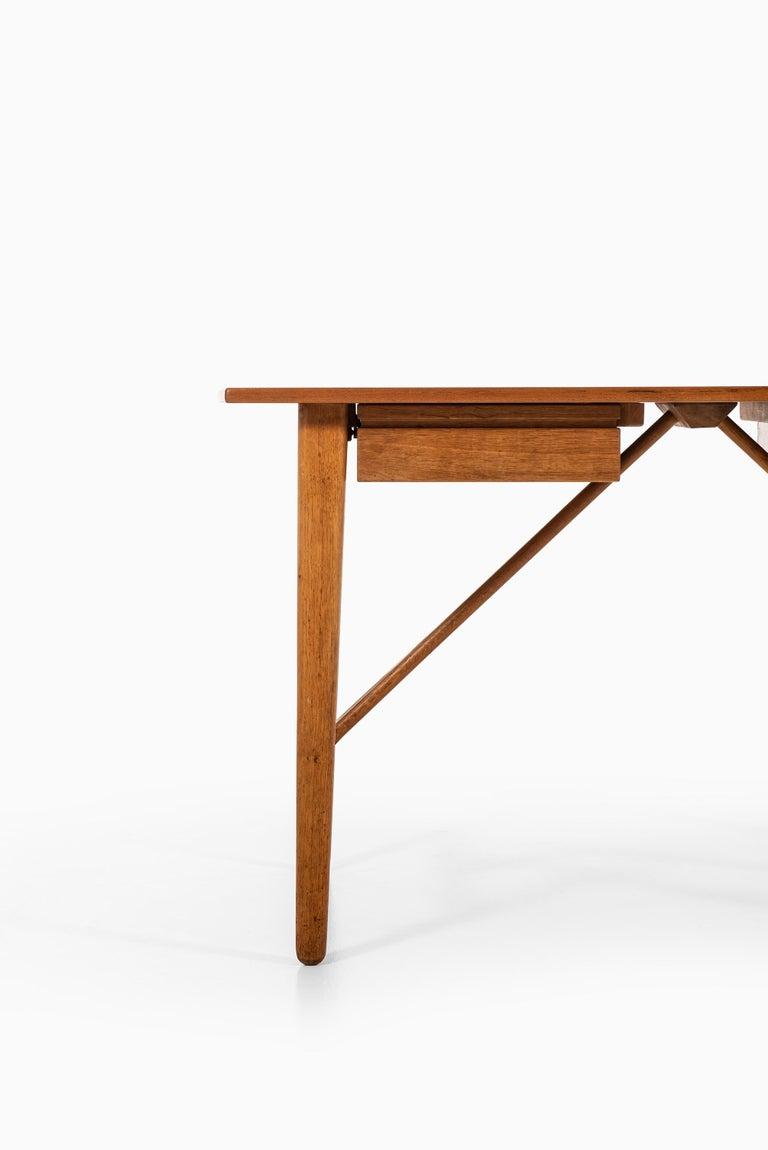 Scandinavian Modern Svend Aage Madsen Desk Produced by K. Knudsen & Søn in Denmark For Sale