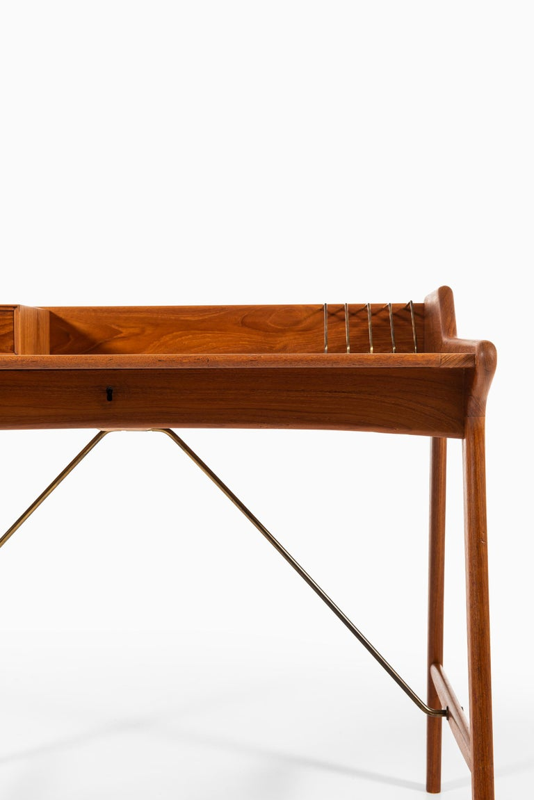 Danish Svend Aage Madsen Desk Produced by K. Knudsen & Søn in Denmark For Sale