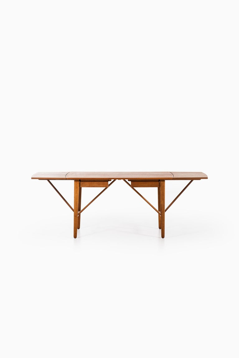 Mid-20th Century Svend Aage Madsen Desk Produced by K. Knudsen & Søn in Denmark For Sale