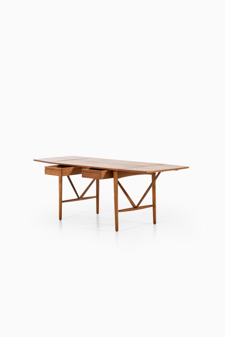 Svend Aage Madsen Desk Produced by K. Knudsen & Søn in Denmark For Sale 1