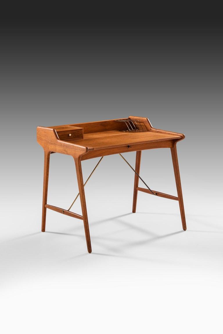 Svend Aage Madsen Desk Produced by K. Knudsen & Søn in Denmark For Sale 2