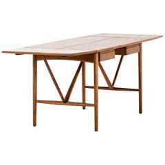 Svend Aage Madsen Desk Produced by K. Knudsen & Søn in Denmark