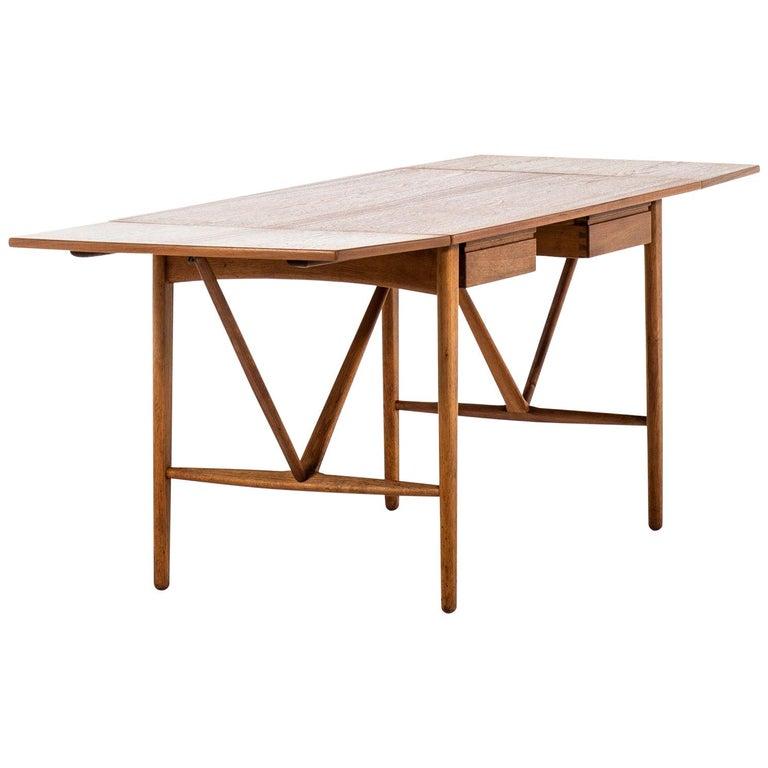 Svend Aage Madsen Desk Produced by K. Knudsen & Søn in Denmark For Sale