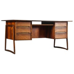Svend Aage Madsen Rosewood Executive Desk