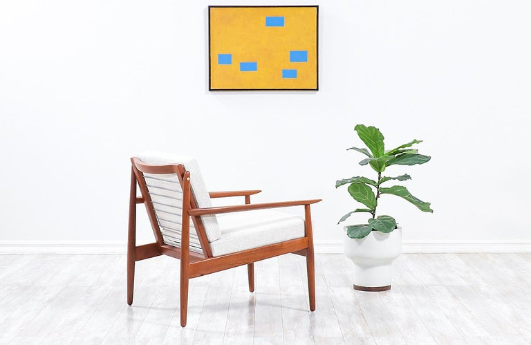 Svend Age Eriksen Teak Lounge Chair for Glostrup Møbelfabrik In Excellent Condition For Sale In Los Angeles, CA