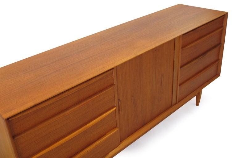 Oiled Svend Åge Madsen Teak 13-Drawer Dresser Cabinet For Sale