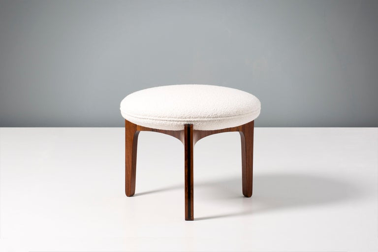 Svend Ellekaer 1950s Rosewood Ottoman In Excellent Condition For Sale In London, GB