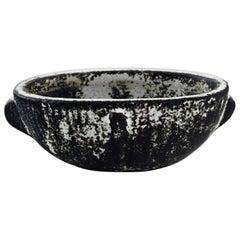 Svend Hammershøi for Kähler, Denmark, Bowl in Glazed Stoneware, 1930s-1940s