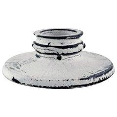 Svend Hammershøi for Kähler, Denmark, Candleholder in Glazed Stoneware