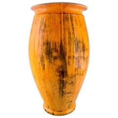 Svend Hammershøi for Kähler, Denmark, Colossal Vase in Glazed Stoneware