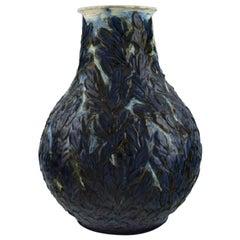 Svend Hammershøi for Kähler, Denmark, Rare and Early Vase in Glazed Stoneware
