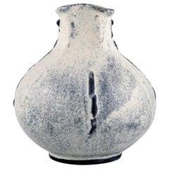 Svend Hammershøi for Kähler, Denmark, Vase in Glazed Stoneware, 1930s-1940s