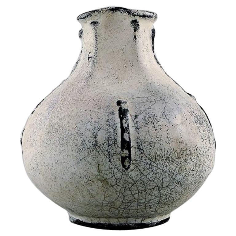 Svend Hammershøi for Kähler, Denmark, Vase in Glazed Stoneware