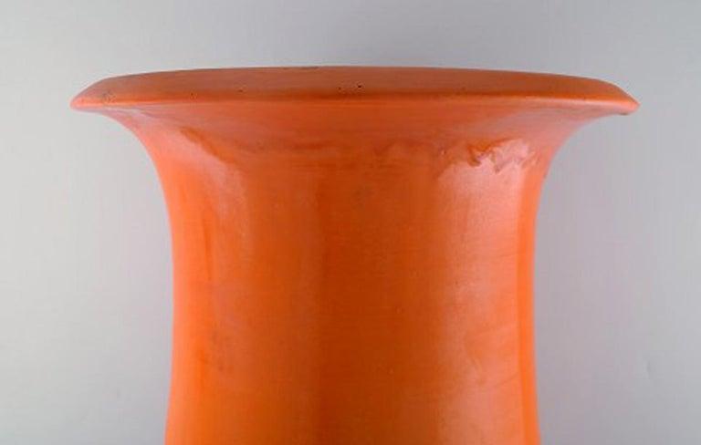 Svend Hammershøi for Kähler, HAK, Colossal Floor Vase in Glazed Stoneware For Sale 2