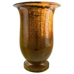 Svend Hammershøi for Kähler, HAK, Large Vase in Glazed Stoneware