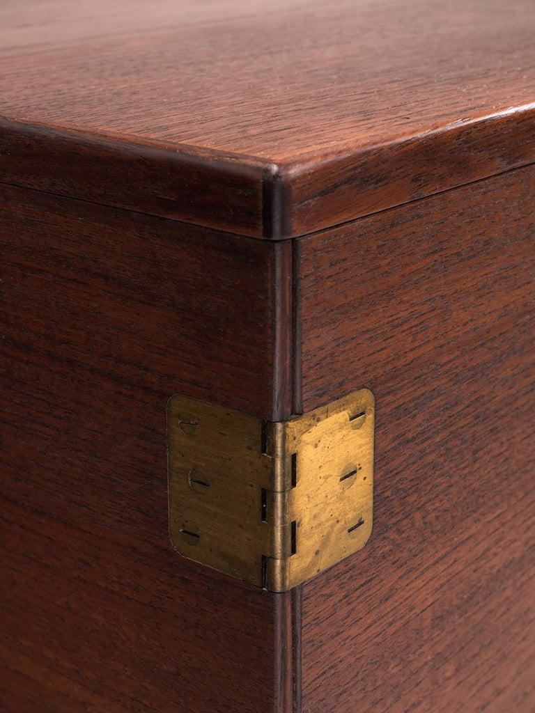 Mid-20th Century Svend Langkilde for Illum Bolighus Pair of Cabinets in Teak For Sale