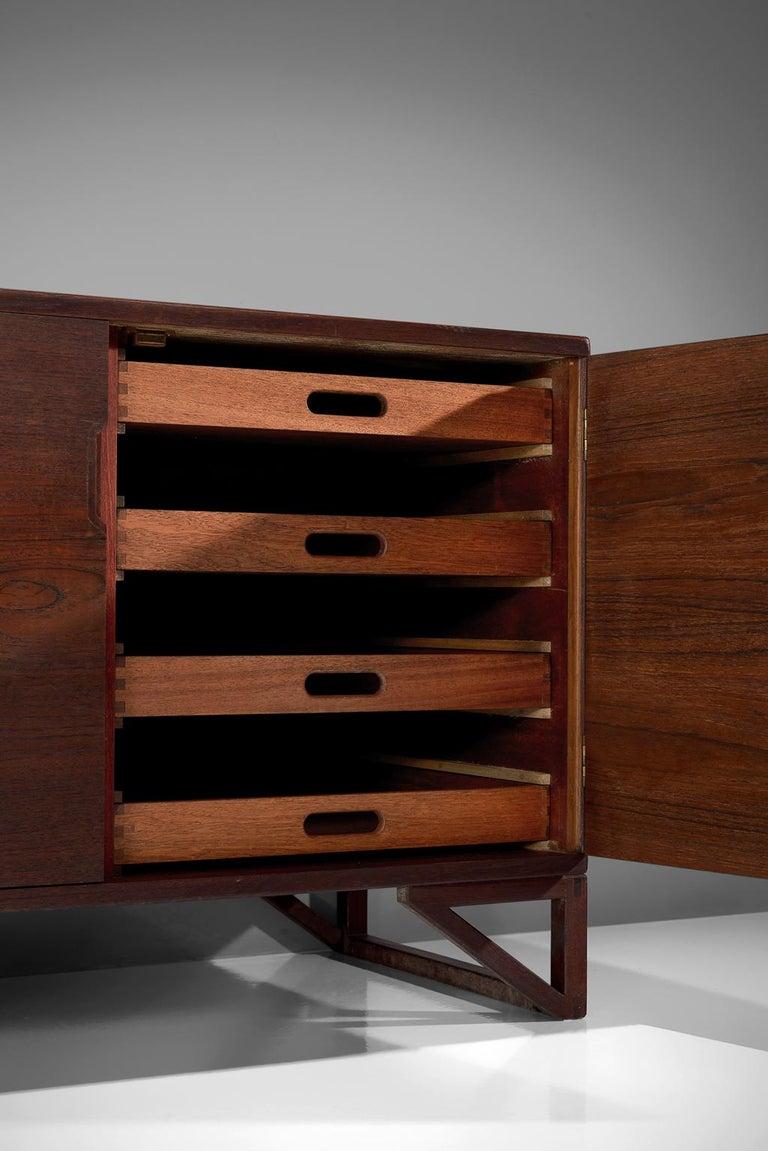 Svend Langkilde for Illum Bolighus Pair of Cabinets in Teak For Sale 2