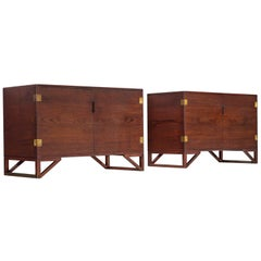 Svend Langkilde for Illum Bolighus Pair of Cabinets in Teak