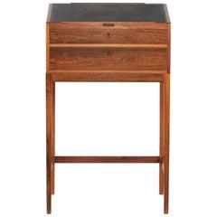 Svend Langkilde High Writing Desk of Rosewood by Langkilde Møbler, 1960s
