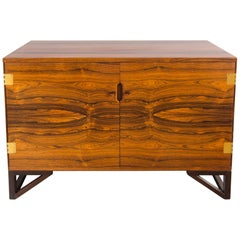 Svend Langkilde Rosewood and Brass Chest