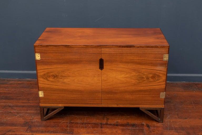 Svend Langkilde Rosewood Cabinet by Langkilde Mobler For Sale 4