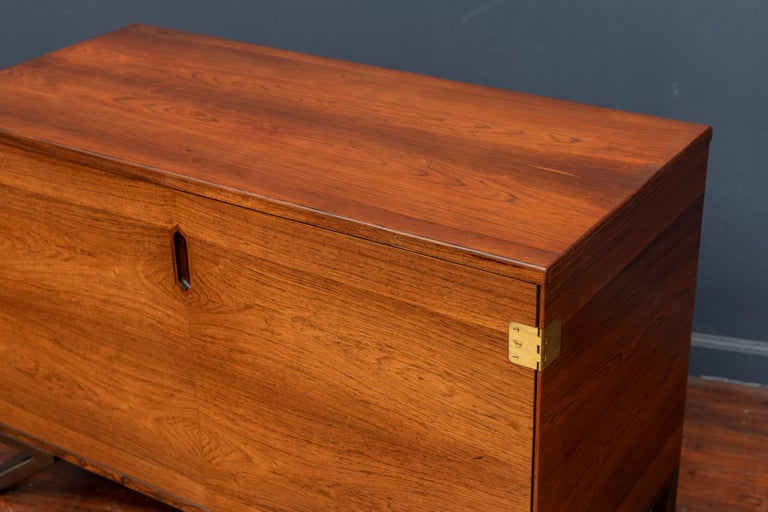 Svend Langkilde Rosewood Cabinet by Langkilde Mobler In Good Condition For Sale In San Francisco, CA