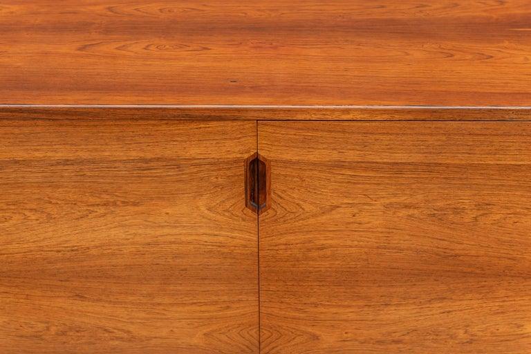 Mid-20th Century Svend Langkilde Rosewood Cabinet by Langkilde Mobler For Sale