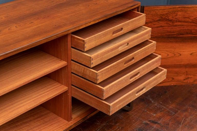 Svend Langkilde Rosewood Cabinet by Langkilde Mobler For Sale 2