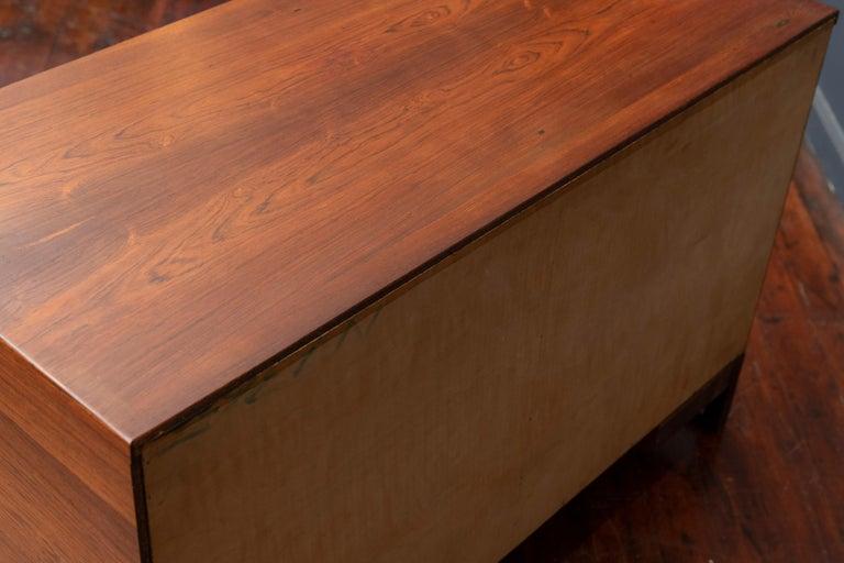 Svend Langkilde Rosewood Cabinet by Langkilde Mobler For Sale 3