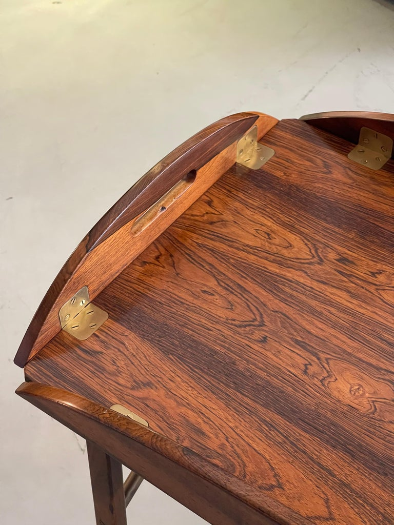 Svend Langkilde Rosewood Tray Table For Sale 4