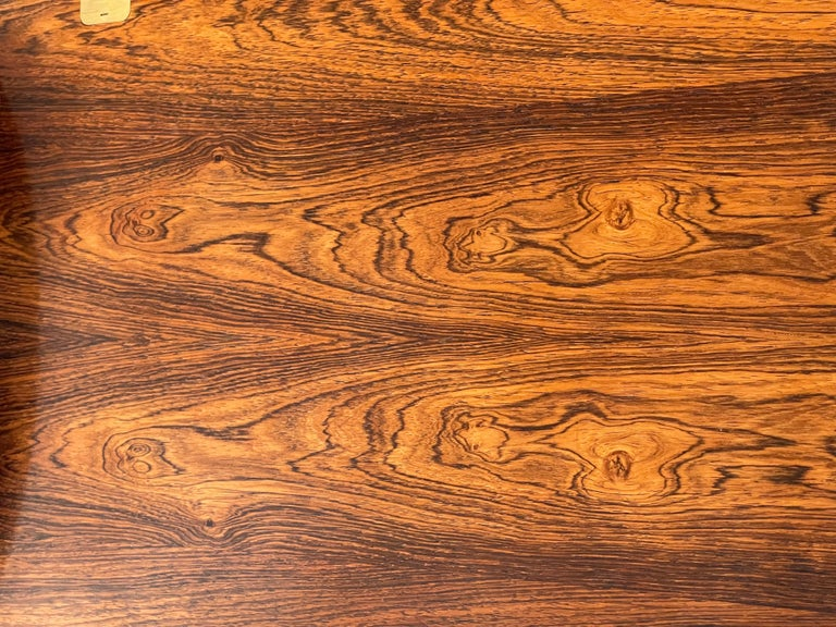 Mid-20th Century Svend Langkilde Rosewood Tray Table For Sale