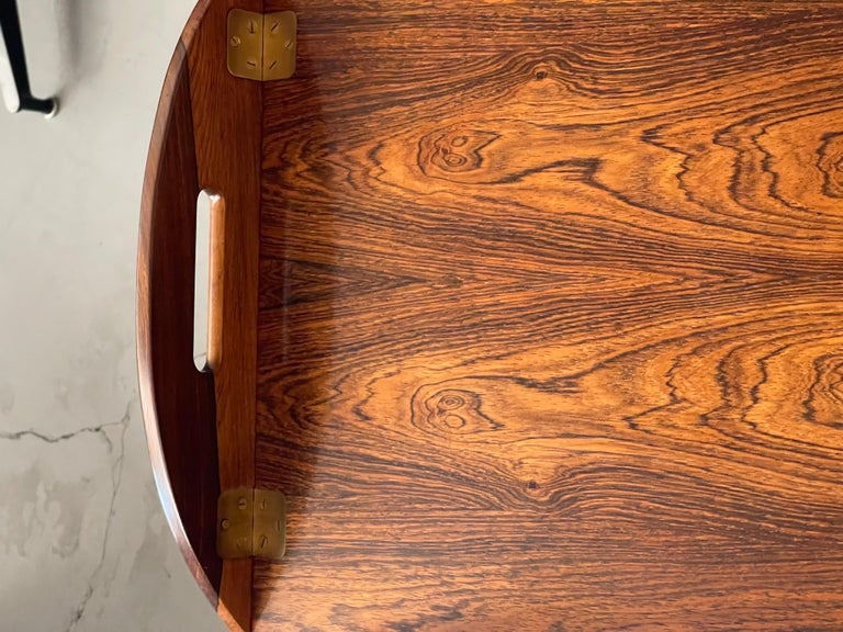 Svend Langkilde Rosewood Tray Table For Sale 1
