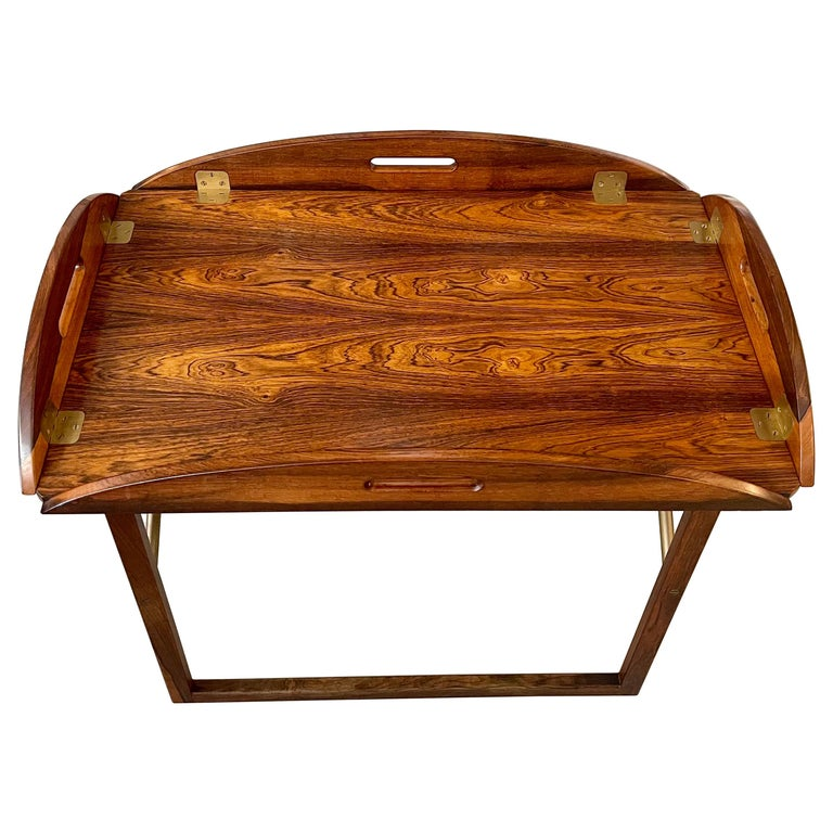 Svend Langkilde Rosewood Tray Table For Sale