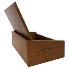 Svend Langkilde Signed Rosewood Jewelry Box, 1950s