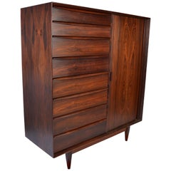 Svend Madsen for Falster Rosewood Chest of Drawers