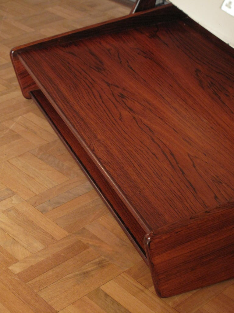 Svend Madsen Rosewood Wall Mounted Vanity Unit For Sale 4