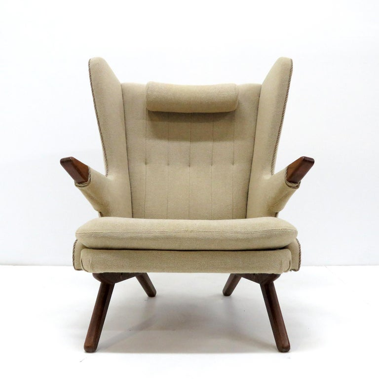 Cool Svend Skipper Model 91 Wingback Lounge Chair 1950 Machost Co Dining Chair Design Ideas Machostcouk