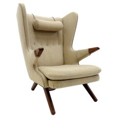 Svend Skipper 'Model 91' Wingback Lounge Chair, 1950
