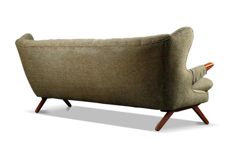 Danish Svend Skipper Teddy Bear Three Seat Sofa For Sale