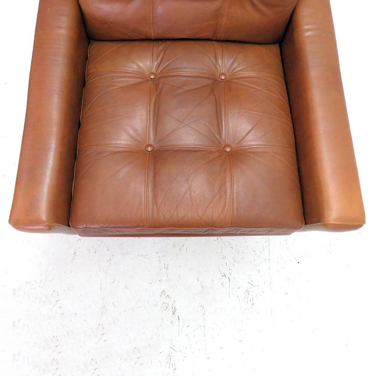 Svend Skipper Wingback Lounge Chair, 1960 For Sale 1
