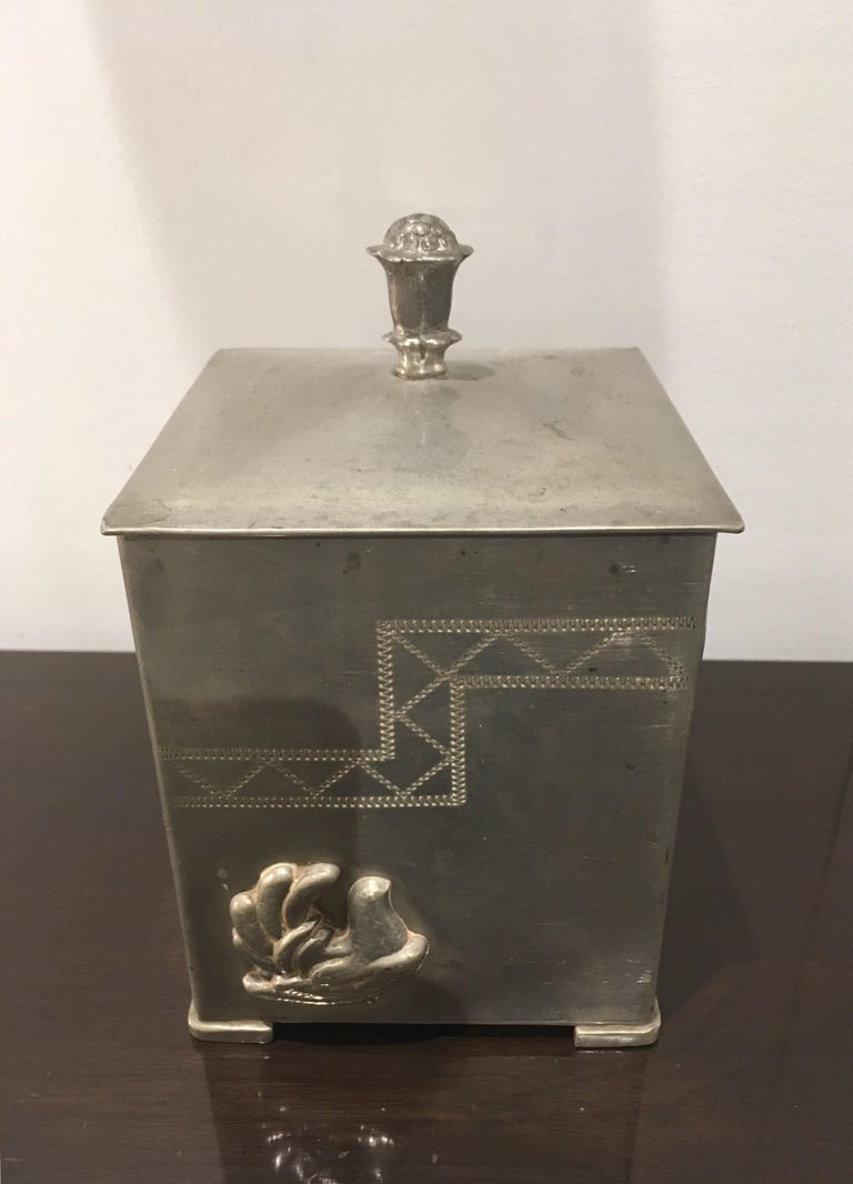 Art Deco Svenskt Tenn 1920s Swedish Grace Box For Sale