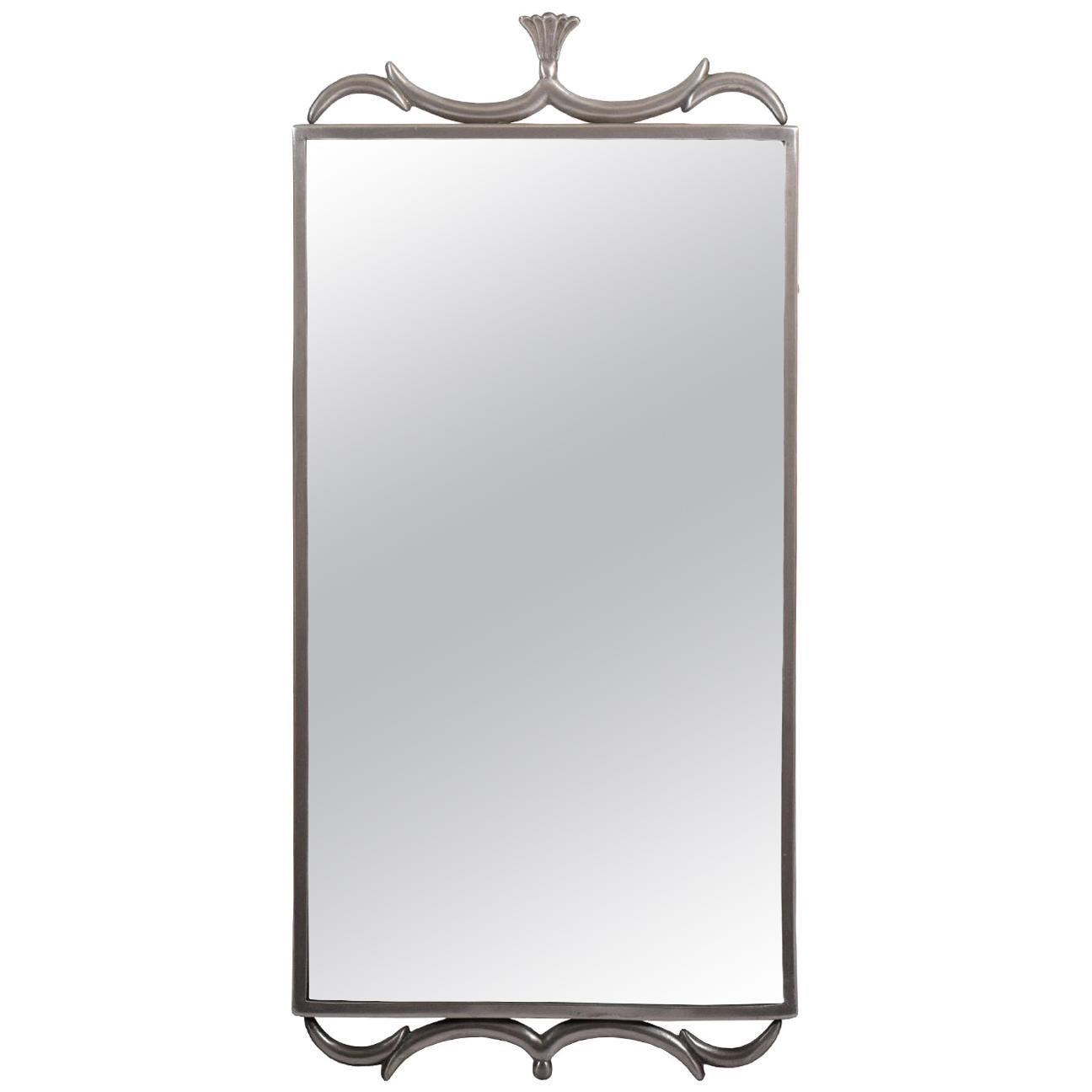 Svenskt Tenn Pewter Mirror Edvin Ollers, 1920s