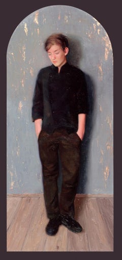 Boy - 21st Century Contemporary Oil Painting by Svetlana Tartakovska